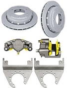 DEEMAXX 6 Bolt Maxx Coated Caliper and Rotor Kit For 6000lbs Axles