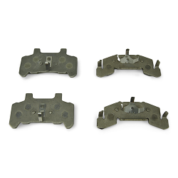 DeeMaxx Trailer Disc Brake Pad Set for 3-6k Calipers Stainless Steel Backed