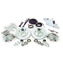 Boat Trailer Disc Brake Kit Single Axle Complete With  Demco Model DA66B (6,000lb) Actuator