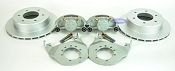 Kodiak Boat Trailer Slip-on Disc Brake Kit ALL Dacromet 6 Bolt