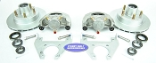 Kodiak Trailer Integral Disc Brake Kit 5 Bolt Dacromet / Stainless