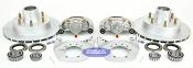 Kodiak Trailer Integral Disc Brake Kit 6 Bolt Dacromet / Stainless