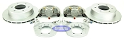Kodiak Boat Trailer Slip-on Disc Brake Kit Dacromet Stainless 6 Bolt