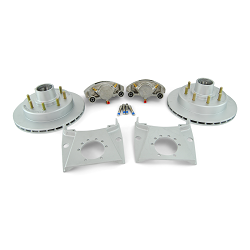 Kodiak Integral Disc Brake Kit Dac/SS Coat 8 Lug 7,000lb Axles 13 inch