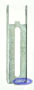 Boat Trailer Vertical Bunk Bracket 8 inch Galvanized Bunk Support