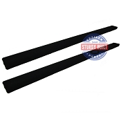 8 Foot Boat Trailer Bunk Board Runner Pre-Carpeted 2 in x 6 in PAIR