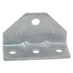 Boat Trailer Bunk Bracket Replacement Swivel Top Angle Galvanized (3/8 inch mounting hole)