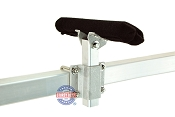Ultimate Aluminum and Stainless Steel Swivel Top Bunk Bracket - 10 inch 2x2 kit