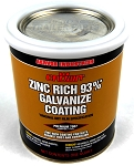 1 Quart Zinc Rich Cold Galvanized Paint