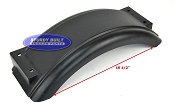 Plastic Trailer Fender for Boat Trailer Single 8 x 20 1/2 x 5 1/4in