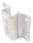2 inch Aluminum Boat Trailer Hat Bracket Support for 3