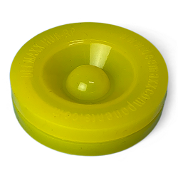 Replacement Trailer Accu-lube Dust Cap Plug Yellow Silicone