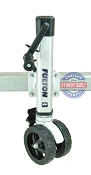 Fulton 1600 lb Capacity F2 Dual Wheel Boat Trailer Tongue Jack Swivel Mount