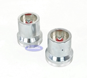 (PAIR) Kodiak Red Eye Trailer Bearing Protector 2.441