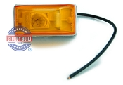 Side Marker Trailer Light Amber Submersible Single Stud 2 1/8