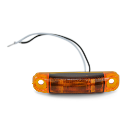 LED Boat Trailer Sidemarker Light Amber Submersible S18