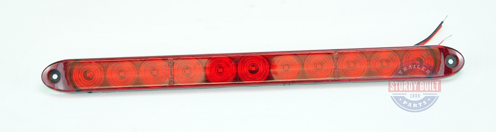 Red led id light bar submersible waterproof stop turn and tail operation aloadofball Gallery