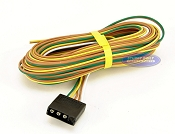 Trailer Light Wiring Harness 4 Flat 25ft to re-do Trailer Lights