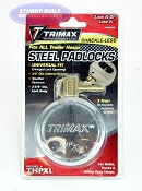 Trimax Trailer Door Hasp Lock Shackle-Less THPXL