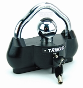 Trimax Universal Boat Trailer Coupler Tongue Hitch Lock UMAX100