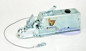 Titan Model 60 Disc Trailer Surge Brake Actuator Coupler 2 inch Ball 7,000lb Lever Lock
