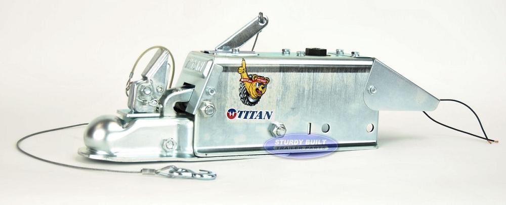 "Titan Boat Trailer Drum Brake Surge Coupler Actuator M60 Model 60 2/"" Ball 7000lb"