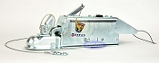Titan Model 60 Disc Trailer Surge Brake Actuator w/ Shield & Solenoid 7,000lb Lever Lock