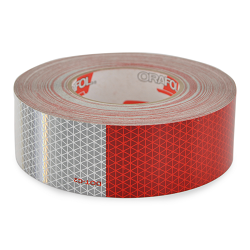 Trailer Visibility Reflective Tape by Optronics 150ft Roll