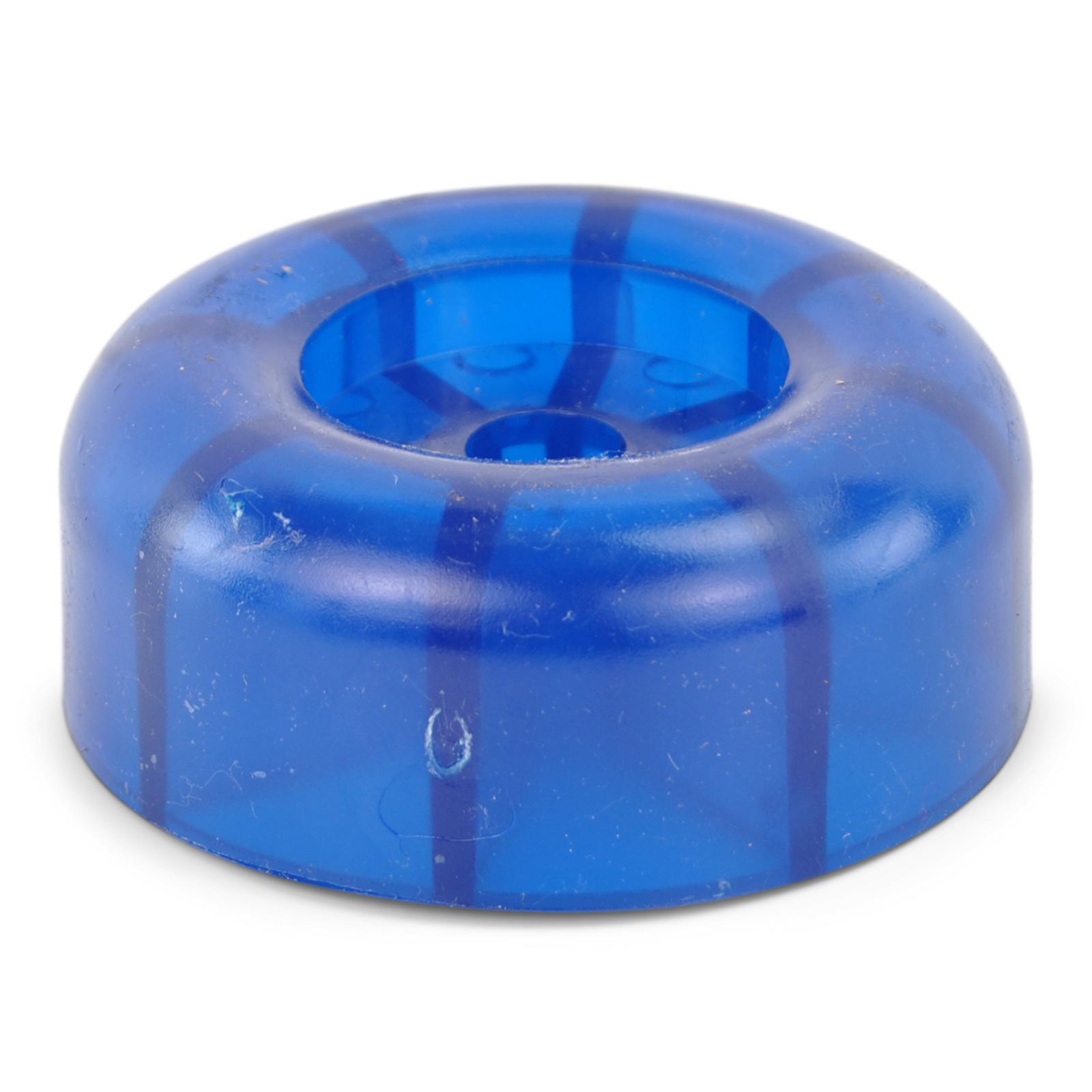 Endkappe BLAU Ø 90 mm für Kielrolle Rolle Polyvinyl