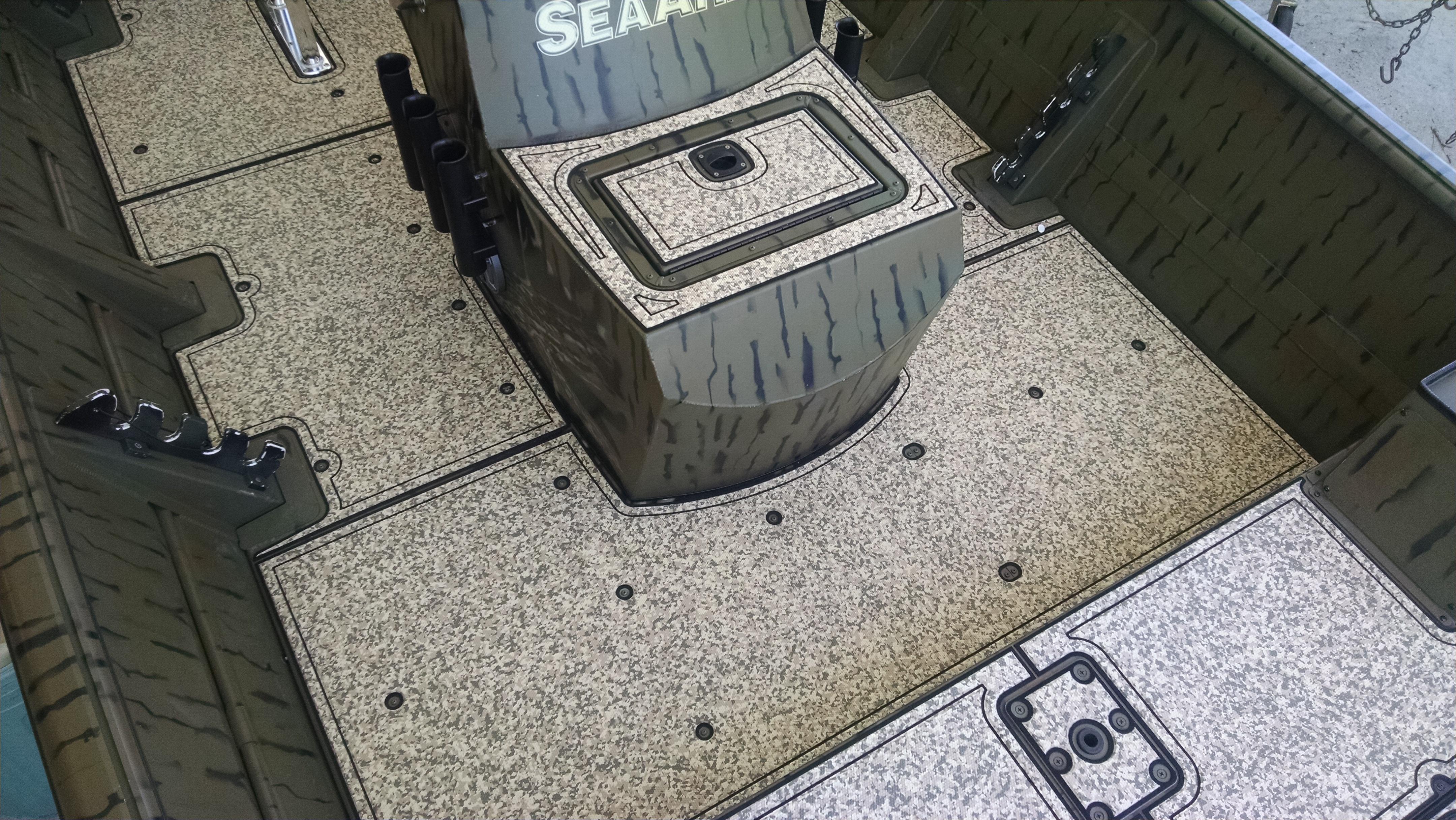 Seadek Marine Sheet Material 39 Inch X 77 Inch Desert Camo