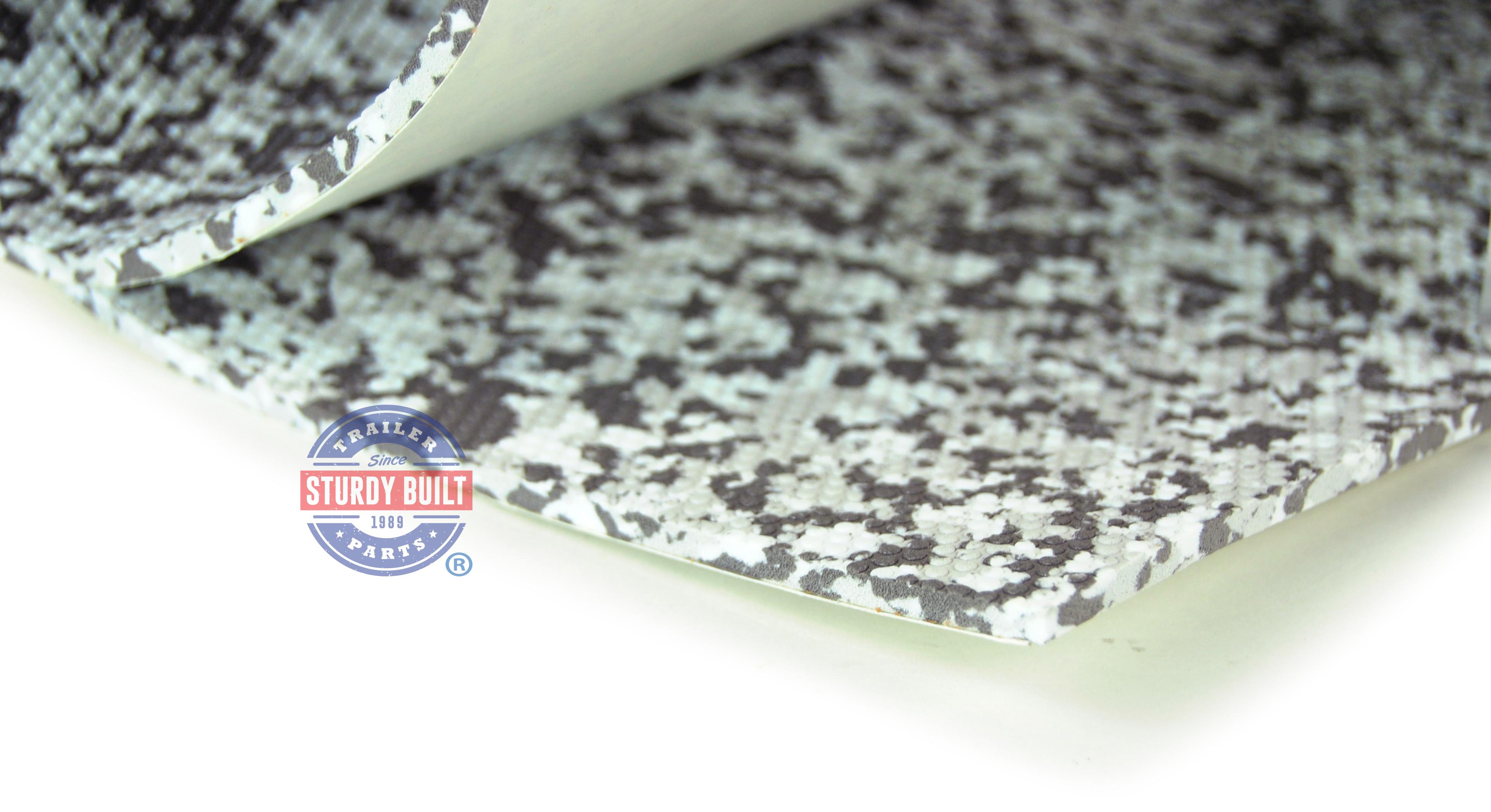 Seadek Marine Sheet Material 18 Inch X 38 Inch Snow Camo