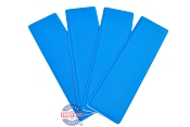 SeaDek Step Pad Kit 4 Piece 12.75 inch Bimini Blue For Boat Trailers