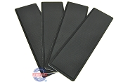 SeaDek Step Pad Kit 4 Piece 12.75 inch Black For Boat Trailers