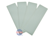 SeaDek Step Pad Kit 4 Piece 12.75 inch Storm Gray For Boat Trailers