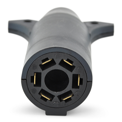 7-Pin RV to 6-Pin Round Plug Trailer Adaptor