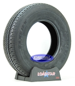 ST225/75R15 Trailer Tire Radial by LoadStar LRD 2540lb Capacity