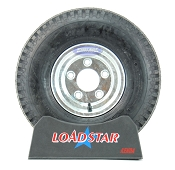 ST 5.70 x 8 Load Range C on a 5 Bolt Galv Wheel 910lb Capacity