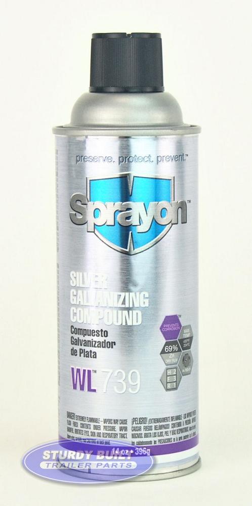 Boat Trailer Brite Zinc Galvanized Spray Paint