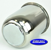Stainless Steel Center cap 13,14, and 15 in Aluminum Wheels