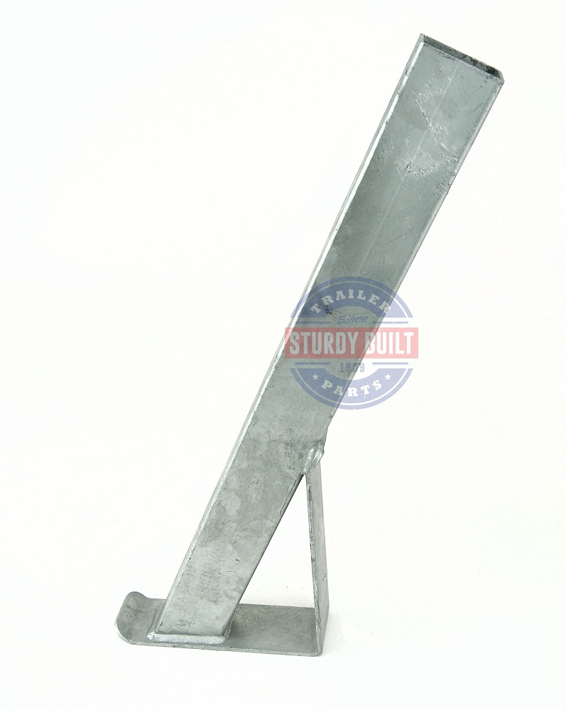 Boat Trailer Winch Post 2 inch x 3 inch x 28 inch Tall Galvanized