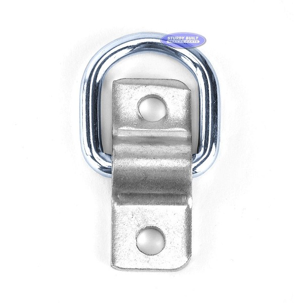 Zinc-Plated Steel Lashing Ring Rated to 1,200lbs