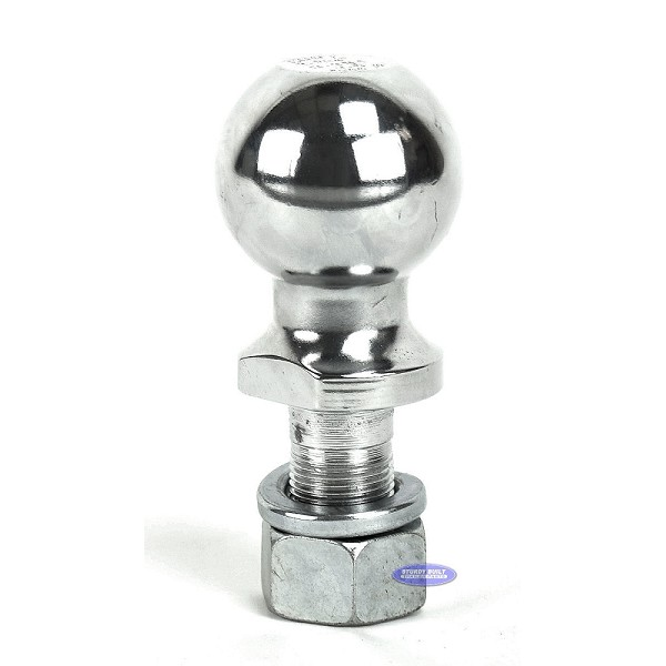 Curt Chrome Trailer Ball 2 5/16 inch x 1 inch Shank 7,500 lb Capacity