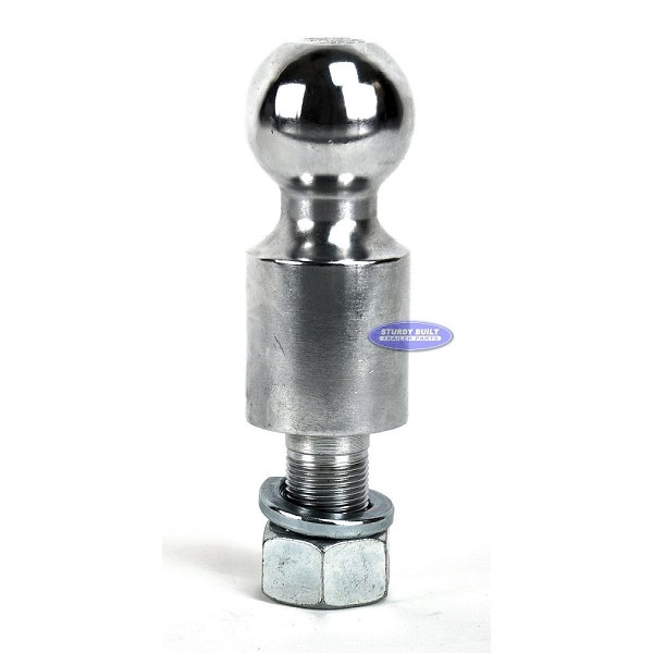 Trailer Ball by Curt 2 inch Ball x 1 1/4 inch Shank 10,000 lb Capacity