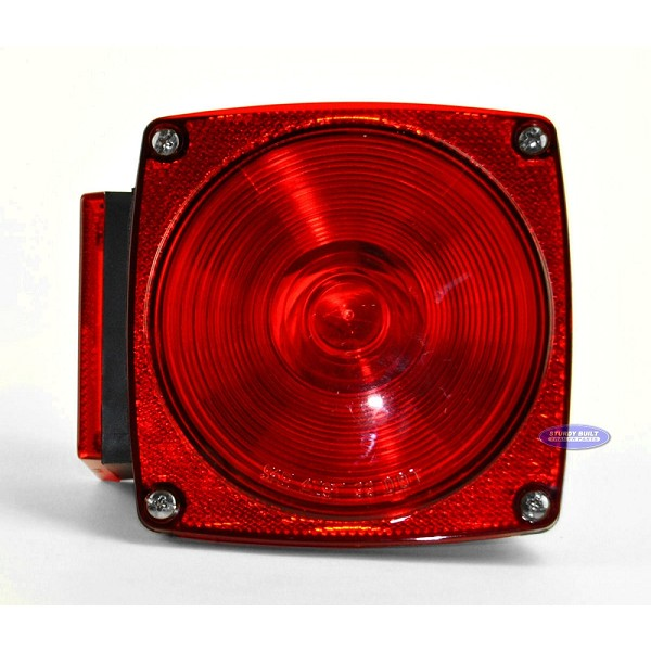 Standard Square 440 Utility Trailer Light for Right Side Stud Mount