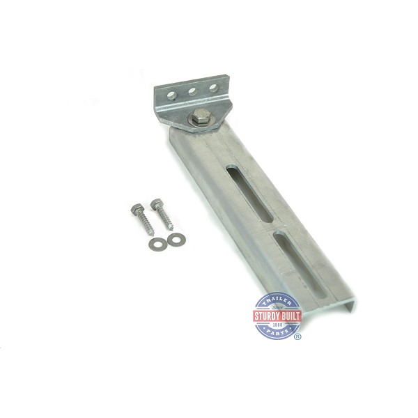Bunk Bracket Swivel Top 12 inch All Aluminum Kit for Bunk Boards