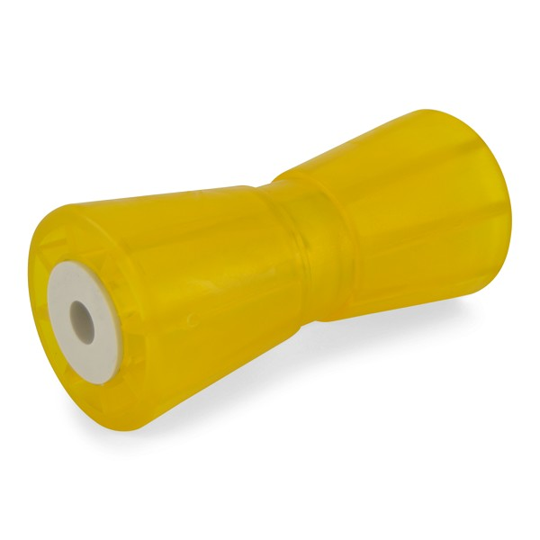 8 inch Yellow Poly Vinyl Boat Trailer Keel Roller