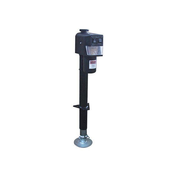 3,500 lb Electric Trailer Jack with Drop Leg by Ram
