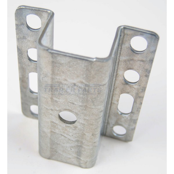 1 1/2 inch Galvanized Boat Trailer Hat Bracket for Guide Poles