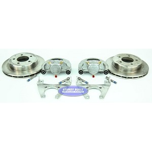 Kodiak Trailer Slip-on Disc Brake Kit ALL STAINLESS STEEL 5 Bolt