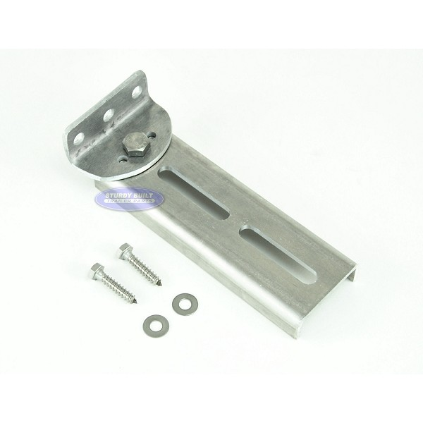 Bunk Bracket Swivel Top 8 inch All Aluminum Kit for Bunk Boards